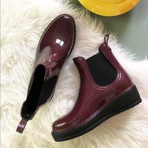 Nicole Miller Platform Rain Boot